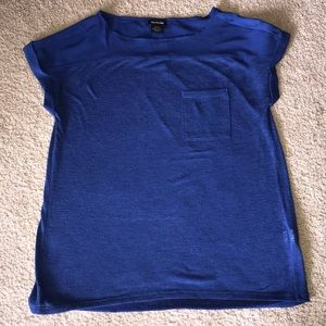 Women's Calvin Klein Blouse sz Small Royal blue